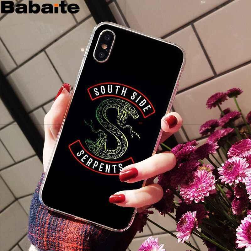 Babaite Americano TV Hot Riverdale Foto Personalizzata Cassa Del Telefono Morbida per Apple iPhone 8 7 6 6S Plus X XS MAX 5 5S SE XR Mobile Della Copertura