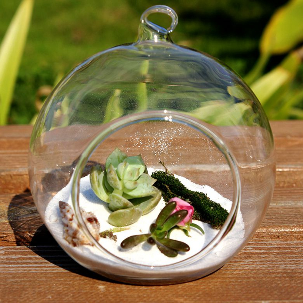 Dia6cm 8 pcs set hanging terrarium glass desktop flower vases 6cm 8 pcs set hanging terrarium glass desktop flower vases candle holders for wedding party decoration home garden decor in vases from home garden on reviewsmspy