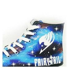Fairy Tail Luminous Canvas Shoes