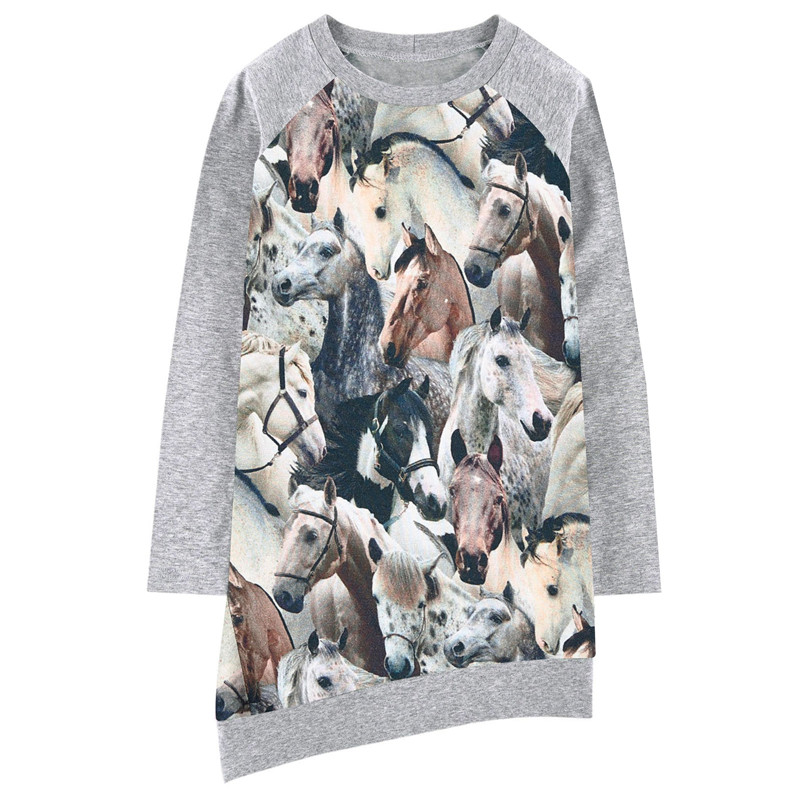 Online Buy Wholesale horse print dress from China horse ...