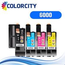 1 комплект colorcity совместимый картридж с тонером для принтера Xerox Phaser c6000 c6010 c 6000 6010 WorkCentre 6015 принтер