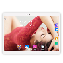 "CIGE 10.1 inch Tablet PC Android octa core RAM 4GB ROM 32/64GB Dual SIM Bluetooth GPS Smart tablets pcs X20 10.1"" 2.5D Screen"