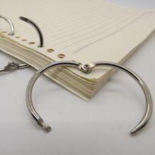 Хорошее качество 10 шт. коллекция карта связующее металлическое кольцо переплетчиком настенный календарь круг висит кольцо Горячая распродажа