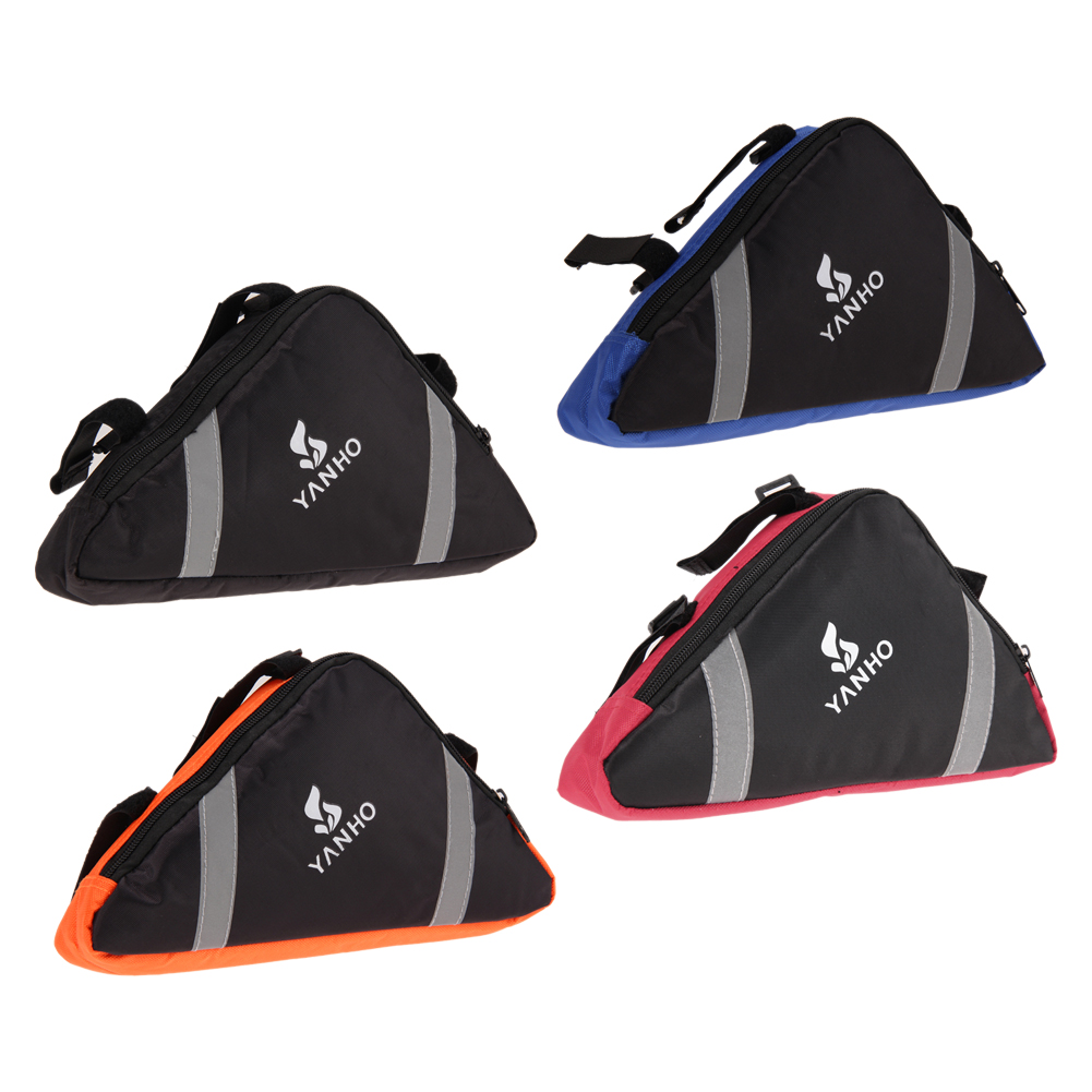 Bycicle Bag Bike Front Tube Triangle Frame Bags Cycling Sports Phone Pouch GPS Tools Holder Bag Bicycle Accessories