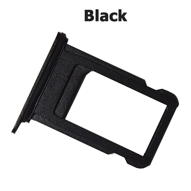timeless design 419d8 d6929 US $0.99 |NYFundas SIM Card Holder Slot Tray Replacement Adapter for iPhone  7 iPhone7 ALL CARRIERS Repair Parts Jet Black Rose Gold Silver-in SIM Card  ...