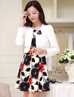 S 3XL Free Shipping Wholesale Hot Sale Plus Size 2014 Fall New Korean OL Slim Fit