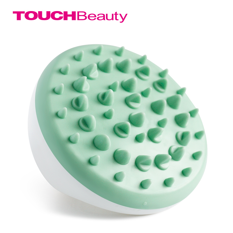 TOUCHBeauty Green Cellulite Body Massager Ventouses Cellulite Massage Brush Soft Glove Slimming Relaxing Scrub TB-0826B-G electric body massager relax tone fat cellulite massager relaxation for slimming and relaxing with four heads