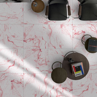 Marble floor 3D stereo wall sticker Self-sticking ceramic tile Renovation waterproof Wear resistant home decoration Floor patch