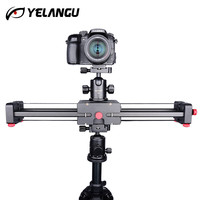 Камера Видео слайдер Долли 50 см железнодорожных путей стабилизатор двойной расстояние 100 см раздвижные для Canon Nikon Sony DSLR DV камера Долли