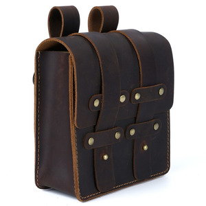 Поясная Сумка Moterm из натуральной кожи, поясная сумка для мужчин, винтажная поясная сумка для путешествий, маленькая поясная сумка для мужчи...