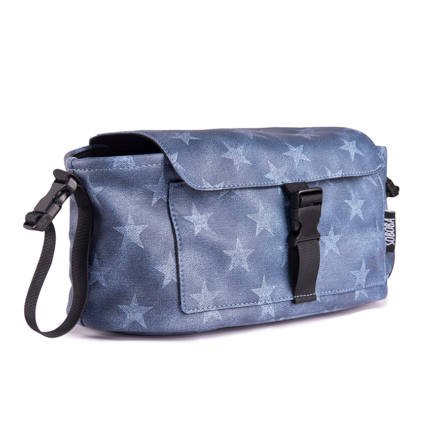 Baby Stroller Bag For Mummy Diaper Bag Carriage Hanging On Strollers Waterproof Stars Pattern Cover Cooler Bags Stroller Accesso