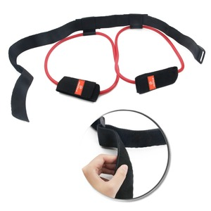 Image 2 - Fitness Women Booty Butt Band Resistance Bands Adjustable Waist Belt Pedal Exerciser for Glutes Muscle Workout Free Bag