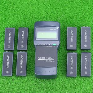 Image 2 - KELUSHI Multifunction Network LAN Phone Cable Tester Meter Cat5 RJ45 Mapper 8 pc Far Test Jack NF 8108 M