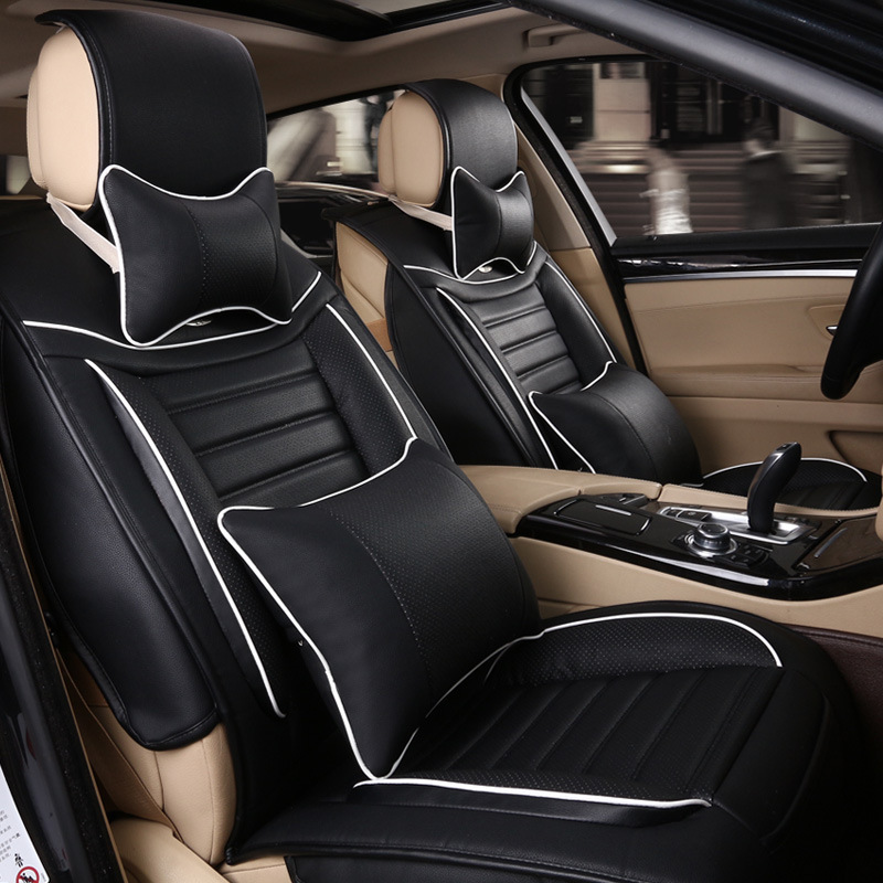 2015 Comfortable Car Seat Covers Breathable Summer Meryl Ultra Thin 5 Seats Soft Quality High End Luxury Universal In Automobiles