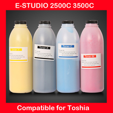 compatible for toshiba e-studio 2500C 3500C refill color toner CMYK high quality color toner powder