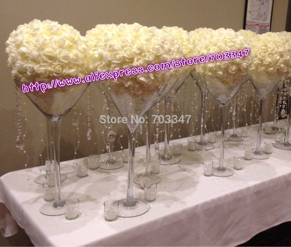 15\'\' 38cm Foam Kissing Rose Flower Ball Artificial Decorative ...