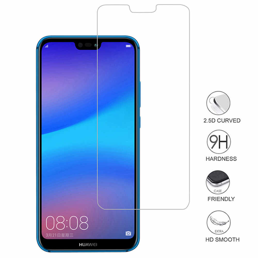 2Pcs Tempered Glass For Huawei Y9 P Smart 2019 P20 lite Mate 20 Pro screen protector on honor 10 9 Lite 8X for P20 lite Glass