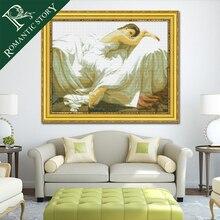 Романтическая история спальный Красота люди портрет 11CT DMC вышивки крестом рукоделие DIY печати крестик Набор для вышивания