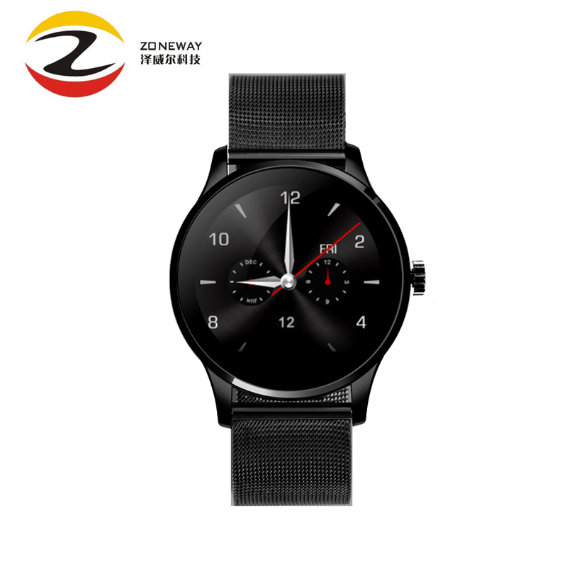 K88H Smart Watch 1.22 Inch IPS Round Screen Support Heart Rate Monitor Bluetooth SmartWatch For iphone huawei xiaomi IOS Android все цены
