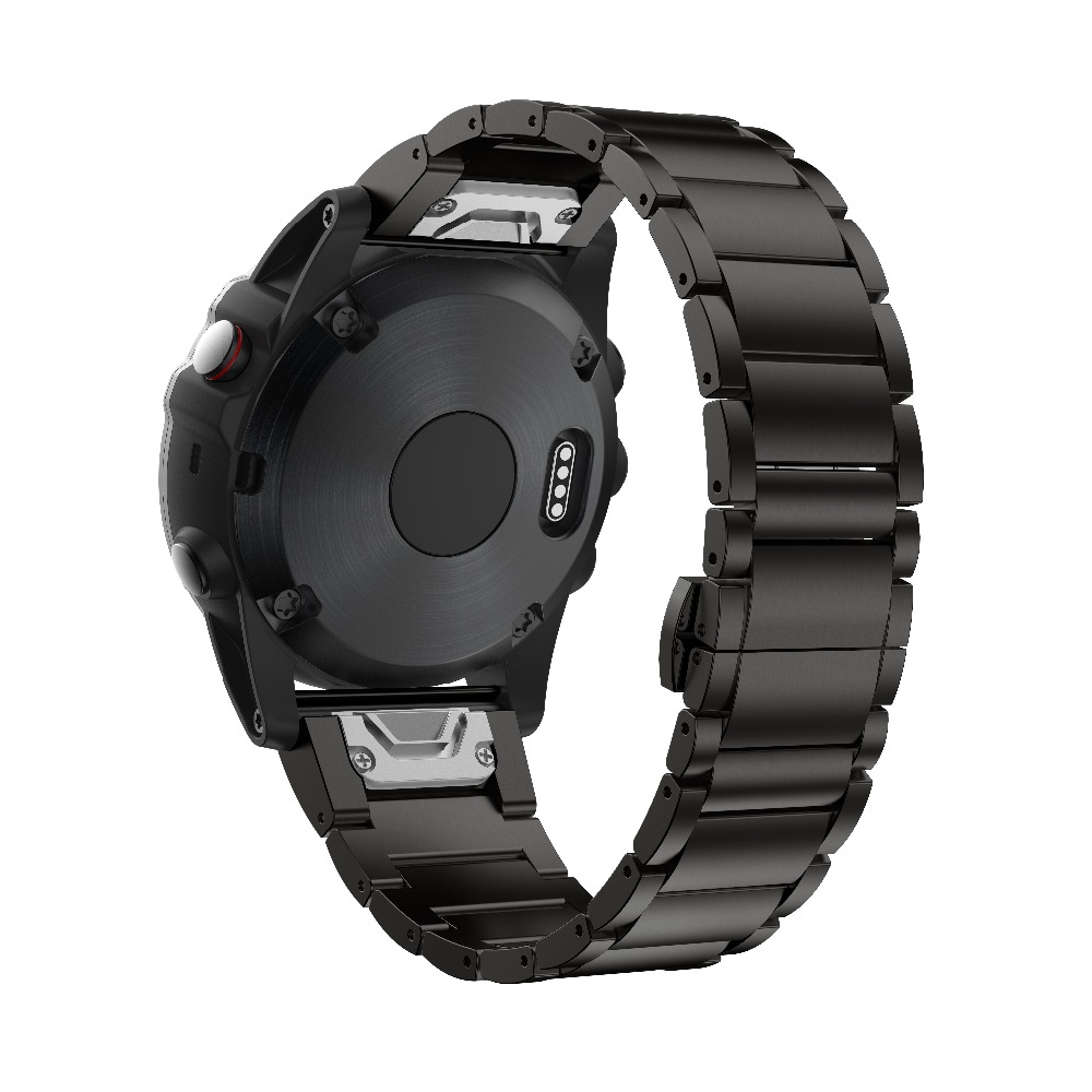 ANBEST Strap Watchband Garmin Fenix Titanium-Alloy 26mm-Width for with Quick-Fit-Function