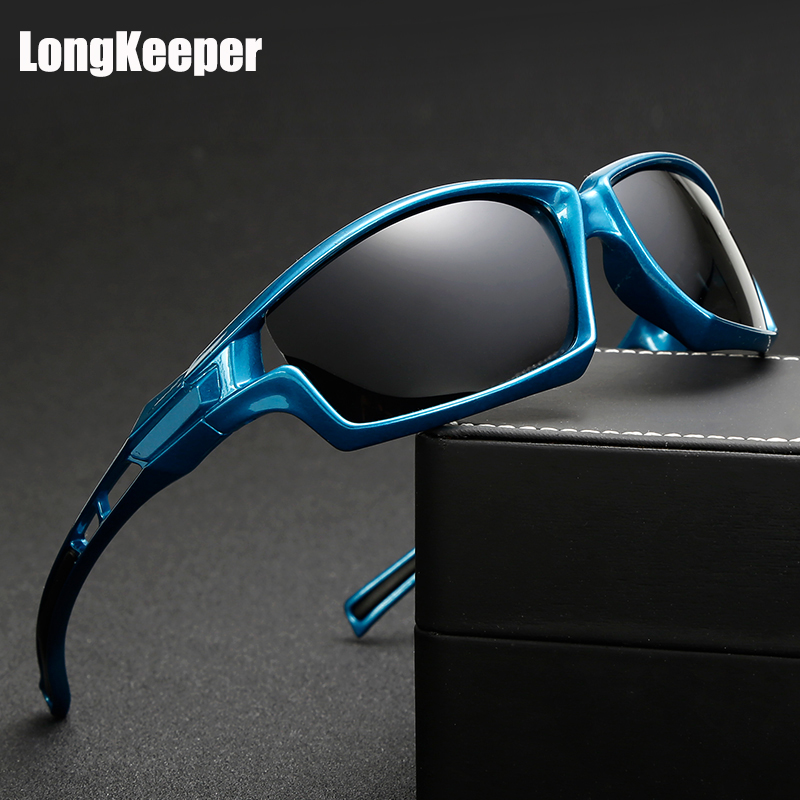 LongKeeper High Quality Polarized Sunglasses Men Sun Glasses For Driving Gafas De Sol Gafas Masculino Male Eyewear Accessories
