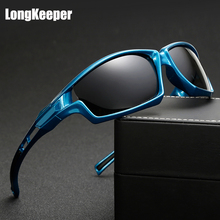 LongKeeper High Quality Polarized Sunglasses Men Outdoor Sport Sun Glasses For Driving Fishing Gafas De Sol Hipster Essential
