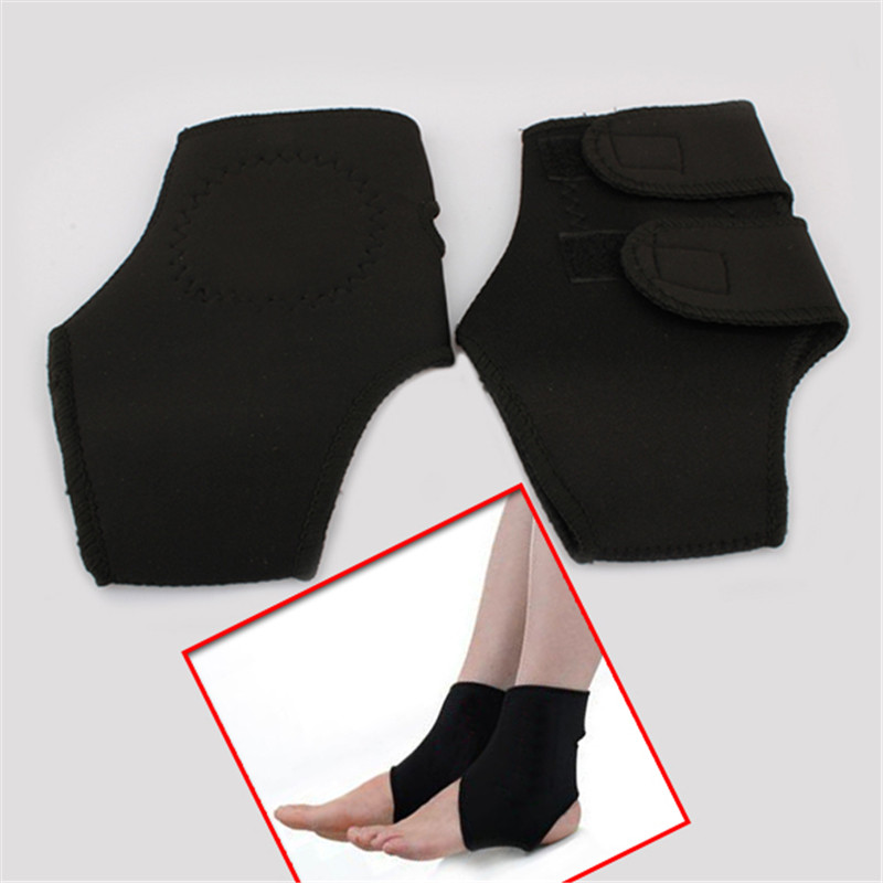 2pcs Magnetic Therapy Ankle Brace Support Spontaneous Heating Protection Elastic Ankle Belt Leg Pads Protectors Health Care