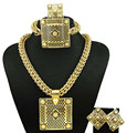 dubai gold plated jewelry fine jewelry sets women fashion necklace fine jewelry sets women necklace18k  jewelry sets