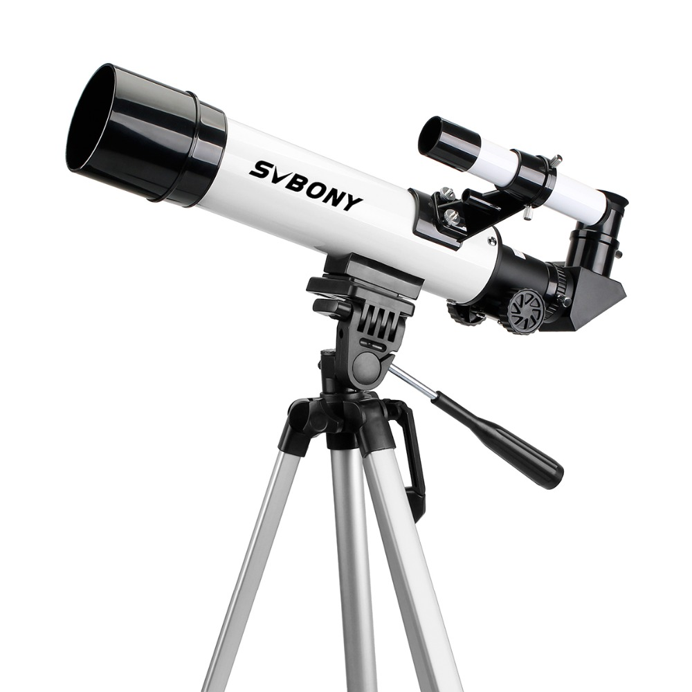 SVBONY SV25 Astronomy Telescope 60/420mm Refractor for Beginner School with Cell Phone Mount Adapter Professional F9304 universal cell phone holder mount bracket adapter clip for camera tripod telescope adapter model c