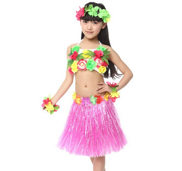 5pcs/lot Free Shipping Hawaiian Kids Dancing Costumes Halloween Carnival Christmas Children Girls Hula Skirt Dance Wear-in Ballroom from Novelty u0026 Special ...  sc 1 st  AliExpress.com & 5pcs/lot Free Shipping Hawaiian Kids Dancing Costumes Halloween ...