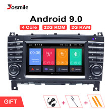 AutoRadio 2 Din Android 9.0 Car DVD Player For Mercedes BenzC-Classs CLC C220 W203 CLK W209 2004-2007 C200 C230 C320 C350 GPS 4G(China)