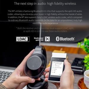 Image 3 - Музыкальный плеер FiiO M7 с высоким разрешением, аудио без потерь, MP3 Bluetooth4.2, сенсорный экран aptX HD LDAC с FM радио, поддержка Native DSD128