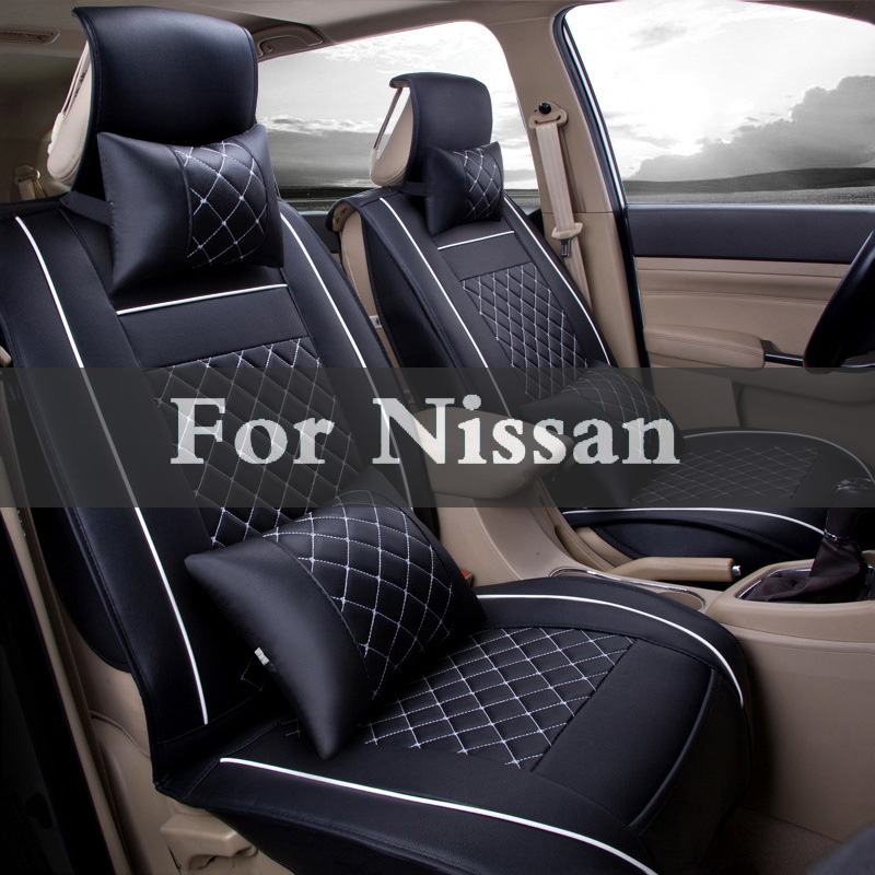 Pu Leather Car Seat Covers Universal Four Seasons Auto Cushion For Nissan Otti Pathfinder Patrol Pino Pixo Primera Pulsar carburetor carb for nissan a12 cherry pulsar vanette truck datsun sunny b210 pulsar truck 16010 h1602 16010h1602 16010 h1602