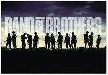 Band of Brothers Giant Art Wall Decor Silk Print Poster