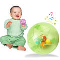 1Pcs Baby Toys Fun Little Loud Jingle Ball Develop Intelligence Training Grasping Ability Baby Toy Hand Bells Baby Rattles