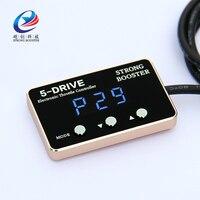 Мини 8 режим опережающее устройство Автомобильная педаль коробка мощный усилитель автомобиля электронный контроллер дроссельной заслонки