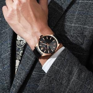 Image 4 - CURREN Watches Men Fashion Watch 2019 Luxury Stainless Steel Band Reloj Wristwatch Business Clock Waterproof  Relogio Masculino