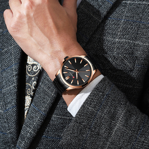 Image 4 - Curren Horloges Mannen Mode Horloge 2019 Luxe Rvs Band Reloj Horloge Business Klok Waterdicht Relogio Masculino