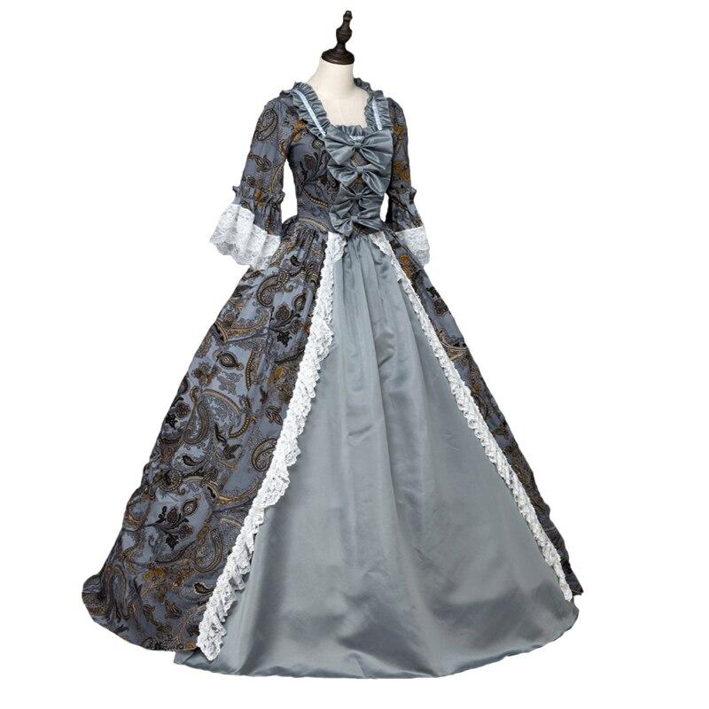 Gothic Marie Antoinette Viktorianischen Ballkleid Renaissance Dirne ...