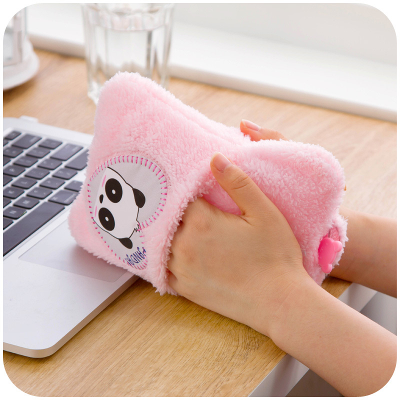 Cartoon Explosion double intervene large hot water bottle, filled plumbing handbags Hand Po K3772