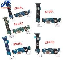 10 יח\חבילה עבור samsung s6 edge plus G928F G928A G928T G928V G928P G928C טעינת נמל מטען dock usb להגמיש כבל סרט