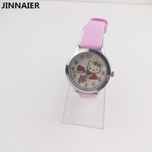 10pcs/lot Wholesales 3D Cartoon Hello Kitty Women's Watches Girls