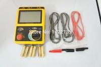 Digital Insulation Meter Volt Resistance Tester 0~1000M ohm Megger MegOhmMeter AR907+
