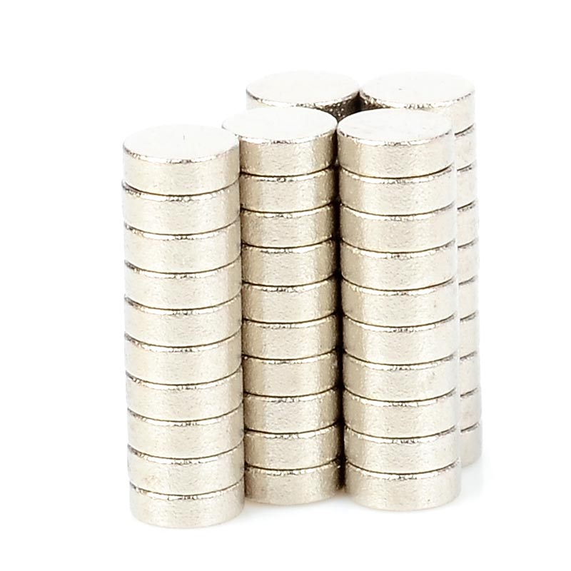 3 x 1mm NdFeB Neodymium Magnet Circular Cylinder DIY Puzzle Set ND-FE-B round strong magnetic sheet rectangular- Silver (50 PCS) 3 x 5mm ndfeb neodymium magnet circular cylinder diy puzzle set silver 100 pcs