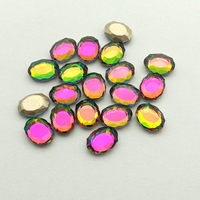 500pcs Mirro Colorfor Crystal Art Glass Rhinestones For Nails Decorations New Arrive Mirro Design Charms Nail Art Ddecorations