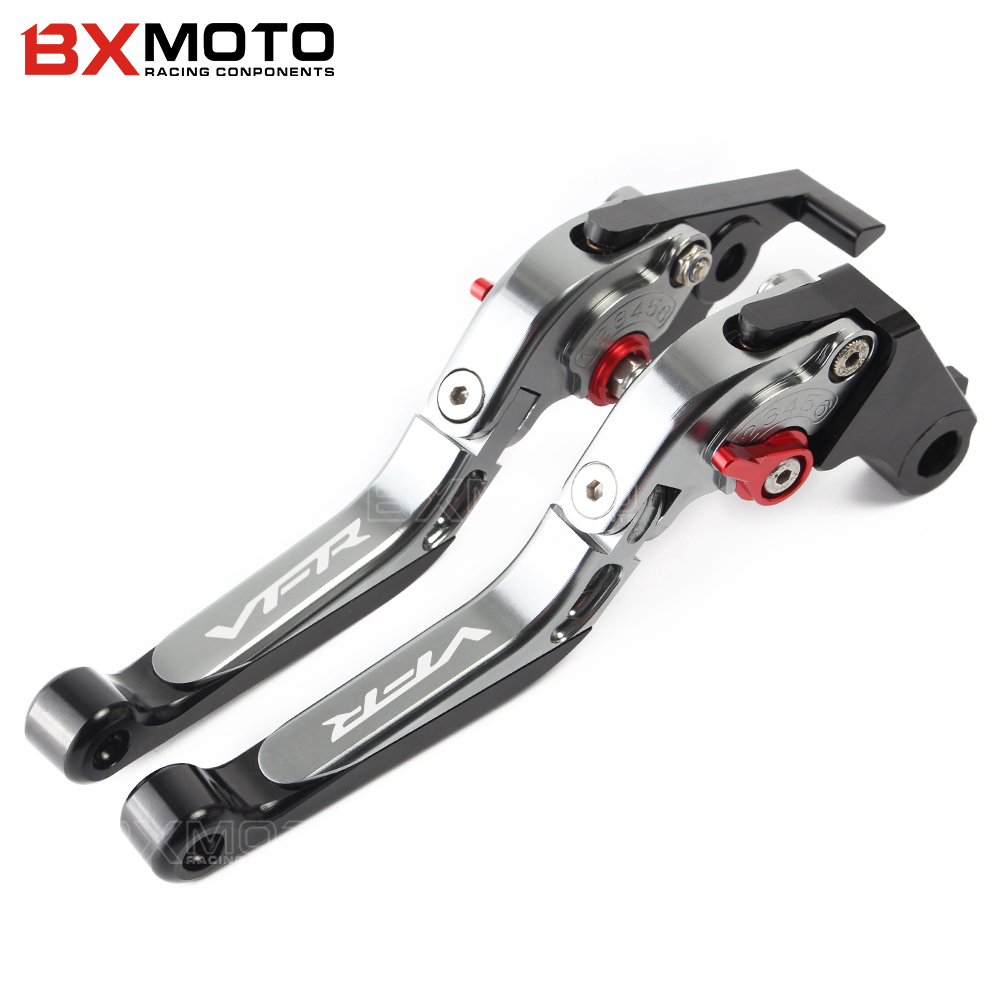 Motorcycle CNC Brakes For Honda VFR800 1998-2001 VFR 800/F 2002 2003 2004 2005 2006 2007 2008 2009 2010-2017 Brake Clutch Lever free shipping cnc 6 position short brake clutch lever for honda x 11 1999 2000 2001 2002