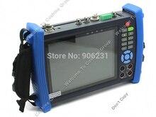 """Envío libre! Portable IPC-8600MOVT 7 """"PANTALLA Táctil HD CÁMARA IP PTZ POE TDR TESTER DC de Salida"""