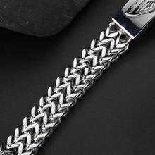 5Pcs/Lot Men's Motor Bike Motorcycle Chain Bracelet Bangle Stainless Steel For Delicate Cool Men Jewelry
