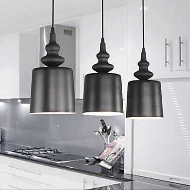 ФОТО 40W Creative Characteristic 1 Light Pendant with Iron Shade   E26/E27  Modern/Contemporary, Retro