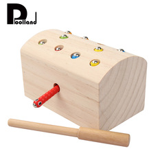 1 Set Wooden Blocks Toy Kids Compatible Magnetic Blocks Educational Cognition Support Color Coordination Exercise Learning